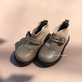 Giầy Boot cổ chun cho bé gái (Ảnh thật)