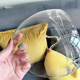 Kính chống giọt bắn phòng dịch bảo hộ Full Face trong suốt - Mặt nạ chống giọt dầu văng bắn chống bụi gió