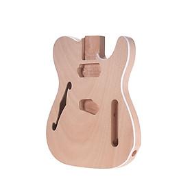 Thân Đàn Guitar Điện Bằng Gỗ DIY TL-F MUSLADY