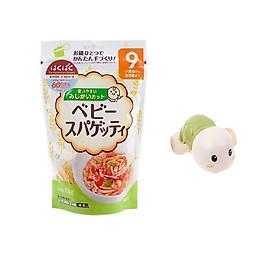 Mì ăn dặm Hakubaku Baby Spaghetti  cho bé từ 9 tháng – Tặng rùa đồ chơi ( màu ngẫu nhiên )