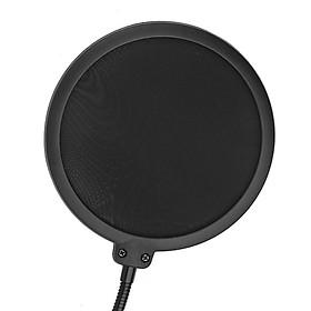 Blowout hood microphone microphone blowout net capacitor wheat windshield windshield windshield noise net black