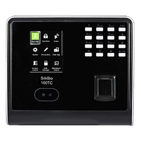 Máy chấm công vân tay nhận diện khuôn mặt ZKTeco SilkBio-100TC - Hàng nhập khẩu