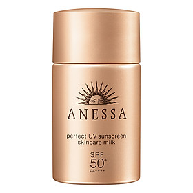 Sữa Chống Nắng Anessa Perfect UV Sunscreen Skincare Milk Spf50+ Pa++++ (20ml)