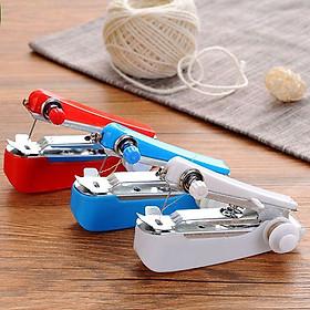Portable Mini Manual Clothes Sewing Machine DIY Sewing Tools Cloth Fabric Handy Needlework Tool
