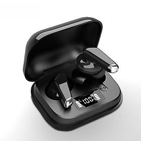 Tai nghe Bluetooth True Wireless BTH-J70 - Màn hình Led thiết kế đơn gian với màu đen sang trọng chống nước và hạn chế tiếng ồn