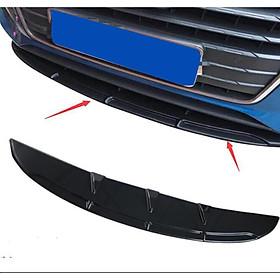 Universal Car Front Bumper Lip Spoiler Diffuser Fins Body Kit Car-styling Front Bumper Diffuser