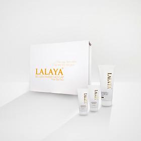 Combo: Serum dưỡng trắng da ngừa nám LALAYA tặng kem bộ 3 mini kem dưỡng da ngày, đêm và body cao cấp LALAYA, 1 sữa rửa mặt tạo bọt(100ml), 1 chai gel rửa tay khô(150ml) và 1 xịt khử khuẩn rửa tay đa năng NANO BẠC X5 LALAYA(110ml)-4