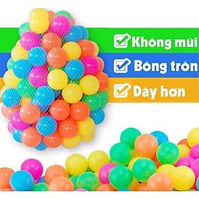 32 Bóng nhựa phi 10cm cao cấp đồ chơi kinh bắc bóng vui chơi cho trẻ em