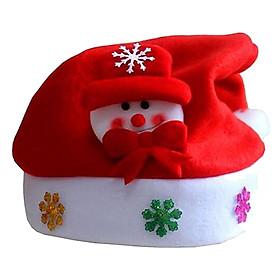 Mũ Ông Già Noel Cho Trẻ Phát Quang