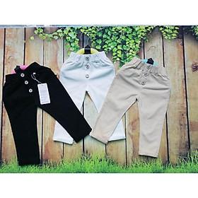 quần kaki dài cho bé gái chất mềm mại lên form cực xinh