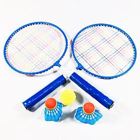Combo 2 chiếc vợt cầu lông tặng kèm 2 quả cầu cho bé
