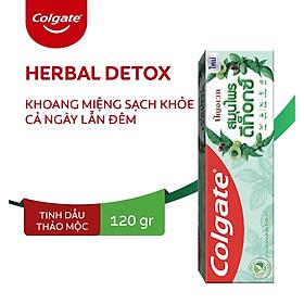 Kem đánh răng Colgate thảo mộc thiên nhiên Herbal Detox 120g