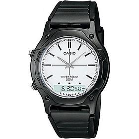 Đồng hồ unisex dây nhựa Casio AW-49H-7EVDF
