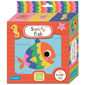 Squirty Fish Bath Book