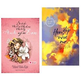 Combo 2 cuốn sách tiểu thuyết ngôn tình hay nhất : Sẽ Có Thiên Thần Thay Anh Yêu Em (Tái Bản 2015) + Hẹn Đẹp Như Mơ (Tái Bản) (Tặng kèm Bookmark thiết kế AHA)