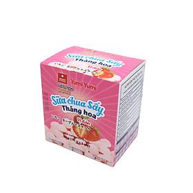Sữa chua sấy Yumi Yumi vị dâu hộp 30 g (10 g x 3 gói)