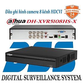 Đầu ghi hình camera 8 kênh FullHD 1080P-4KN Dahua DH-XVR5108HS-X hàng chính hãng DSS Việt Nam