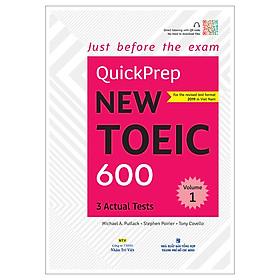 Quickprep New Toeic 600 Volume 1 (Kèm file MP3)