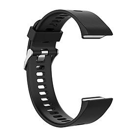 Watch Band Strap for Garmin Forerunner 35 30 35J ForeAthlete 35J Rubber Strap