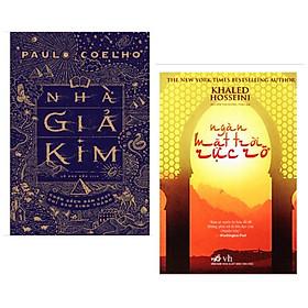 Combo 2 cuốn: Nhà Giả Kim + Ngàn Mặt Trời Rực Rỡ / Bộ sách văn học kinh điển