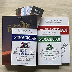 Combo Sách Và Truyện Luyện Trí Nhớ Phát Triển Siêu Trí Tuệ Numagician 1+2+3 Và Bật Đèn Kèm Quà Tặng Độc Đáo Từ Fususu (Mới)