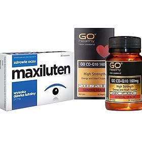 Thực Phẩm Chức Năng Viên Bổ Mắt Maxiluten Và Viên Bổ Tim GO Co-Q10 160mg