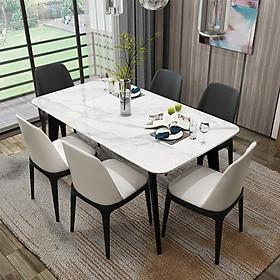 Bộ bàn ghế cao cấp cho phòng ăn với thiết kế sang trọng