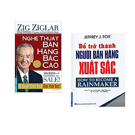 Combo 2 cuốn sách: Nghệ Thuật Bán Hàng Bậc Cao (Khổ Lớn) + Để Trở Thành Người Bán Hàng Xuất Sắc