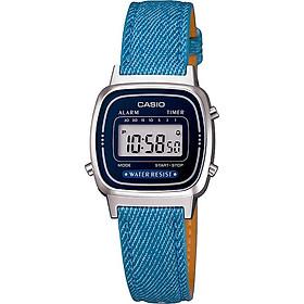 Đồng hồ nữ dây da Casio LA670WL-2A2DF