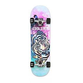 Ván Trượt  Skateboard  Gỗ 1100- 10 trục hợp kim + gỗ ép 3 lớp