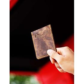 Ví da bò đựng thẻ Card Holder ATM dáng đứng - Card Holder 5