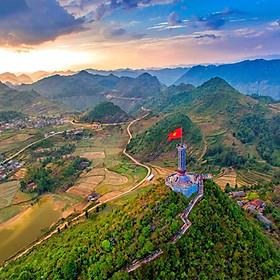 Tour 5N4Đ Vòng Cung Đông Bắc: Hà Giang - Lũng Cú - Đồng Văn - Mèo Vạc - Cao Bằng - Hồ Ba Bể - Hà Nội, Khởi Hành Thứ 4 Hàng Tuần
