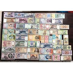 Combo 52 tờ tiền cổ thế giới khác nhau của 26 quốc gia