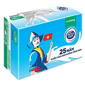 Thùng 48 Hộp Sữa Tươi Tiệt Trùng Dutch Lady Cô Gái Hà Lan Có Đường (48X180ml)