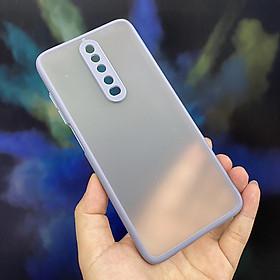 Ốp lưng cho Xiaomi Redmi K30 - Redmi K30 5G trong nhám viền màu che camera