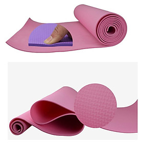 Non-Slip EVA Yoga Pilates Mat Moisture Resistant Fitness Gym Cushion Pad Support-7