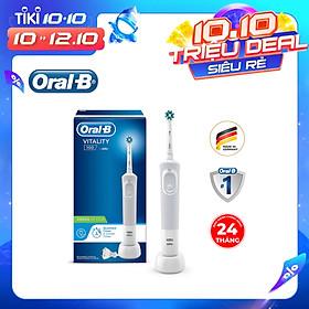 Bàn chải đánh răng điện Oral-B Vitality 100 CrossAction White D100.413.1