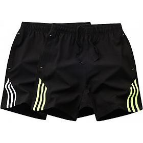 Combo 2 quần short thể thao nam 3 sọc