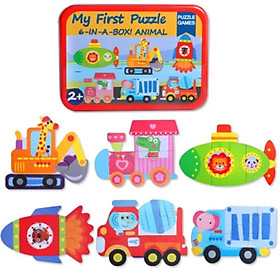 Bộ lắp ghép hộp sắt First Puzzle