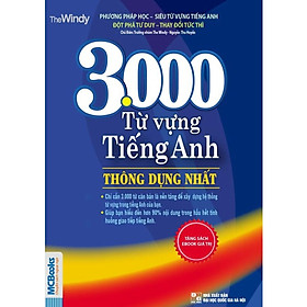 Combo 3000 Từ Vựng Tiếng Anh Thông Dụng Nhất (Tái Bản) + 5000 Từ Vựng Tiếng Anh Thông Dụng Nhất (Tái Bản 2019) (Tặng kèm bookmark CR)