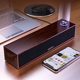 Loa gỗ vi tính E350 Sound Bar HD nhỏ gọn - hàng nhập khẩu