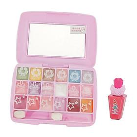 Natural Makeup & Cosmetics Kits Little Girls Princess Beauty Dressing Makeup