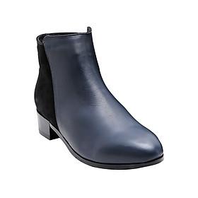 Giày Bốt Nữ Da Thật Gosto Cowgirl GS0000314DBL (Xanh Đen)