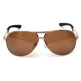 Gold Men's Polarized Sunglasses Driving Outdoor Sports Eyewear Glasses