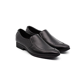 Hình đại diện sản phẩm Giày tây nam công sở da trơn không côt dây (da bò thật) VO BS 5577