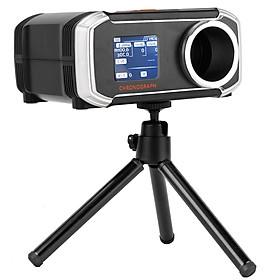 Máy đo tốc độ đa chức năng với màn hình LCD và vận tốc kế hiện đại