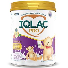 Sản Phẩm Dinh Dưỡng Sữa Bột IQLac Pro Biếng ăn Suy Dinh Dưỡng - Premium (900g)