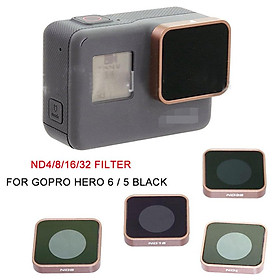 For Gopro Hero 5 6 Black Camera ND4 ND8 ND16 ND32 Lens Filter Replacement Accessories