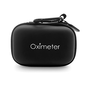 Oximeter Storage Case Water Resistant Pulse Oximeter Travel Case Hard EVA Carry Pouch for Fingertip Pulse Oximeter