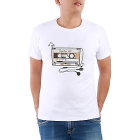 Hình đại diện sản phẩm Áo Thun Unisex R Rango Tay Ngắn Hipster Hit Cổ Tròn Hoạ Tiết In Cao Cấp ATIDBP041 - Trắng
